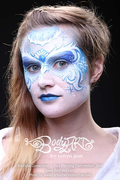 Full Face Painting Pictures